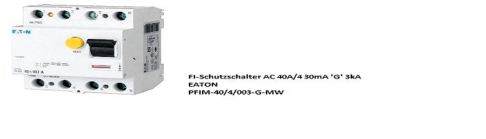 EATON PFIM-40/4/003-G