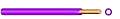 Ye 4mm²  H07V-U  PVC-Aderleitung