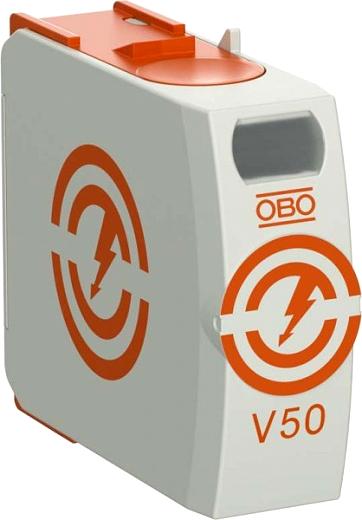 Überspannungsableiter Typ1+2 Oberteil 280VAC 50kAOBO BETTERMANN V50-0-280