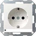 GIRA 117028 Steckdosen, mit LED-Orientierungsleuchte - anthrazit