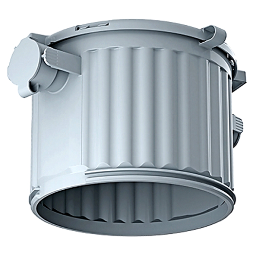 KAISER 1281-00 Einbaugehäuse, HaloX 100 Tiefe=110mm Öffnung