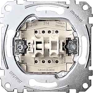Serienschalter mit N-Klemme, 1p., 10A, AC250VMERTEN MEG3125-000