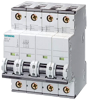 Siemens 5SY6616-6 LS-Schalter 6kA 3+N-pol B16