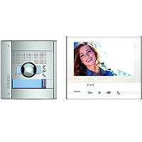 BTICINO 365011 mit Smartphone-Anbindung Einfamilien Flex'ONE Videosprechanlage -Set mit Türstation LINEA 3000 und Hausstation CLASSE 300 X13E