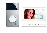BTICINO 363511 2 Draht Eienfamilien Flex'ONE Videosprechanlage-Set mit Türstation LINEA 3000 und Hausstation CLASSE 300 V13E