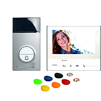 BTICINO 363911 Flex'ONE Video-Set mit Türstation LINEA 3000 und Hausstation CLASSE 300 X13E