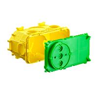 KAISER 1268-40 Beton Electronicdose 2teilig (LxBxT) 145x74x94mm5 Stk.