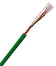 500 m J-Y(ST)Y 2x2x0,8 grün, MSR/EIB Installationskabel XC15400109