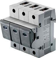 Neozed-Lasttrennschalter D02 25A 3P, fix kodiert (Linocur) MERSEN 05863.025000