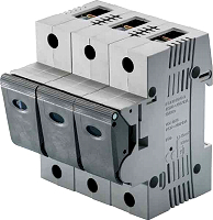 Neozed-Lasttrennschalter D02 50A 3P, fix kodiert (Linocur) MERSEN 05863.050000