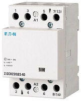 EATON Z-SCH230/63-40 Insta-Schütz 4Schl. 63A/230VAC brummfrei 3TE
