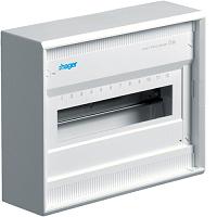 Hager VA12BN 1-Reihig APV Volta IP30 1x12PLE ,QuickConnect