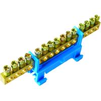 Nullleiterklemmblock 15 Klemmstellen 16qmm