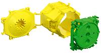 1265-40 Kaiser Beton Geräte Verbindungsdose, Großrohrausführung