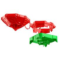 Beton-Deckendose 45° Durchmesser 35 mm