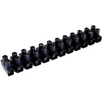 Europaklemmleisten EKL 2 SW, schwarz, 2,5-10 mm² 10 Stangen