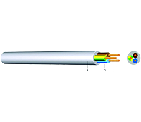 YMM 4X1 HELLGRAUKABEL-LEITUNGEN H05VV-F 4G1 HGR  50m