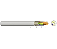 YM-J 3X1,5 Mantelleitung Grau  1000m