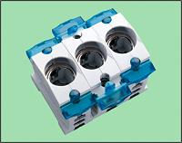 NEOZED-Einbau-Sicherungssockel D02 E18 63A 400V 3p WÖHNER 92000210