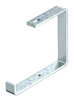 Abhängebügel für Kabeltasse Flachstahl Breite=200mm OBO BETTERMANN AHB 200 FT