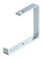 Abhängebügel für Kabeltasse  Flachstahl Breite=400mm OBO BETTERMANN AHB 400 FT