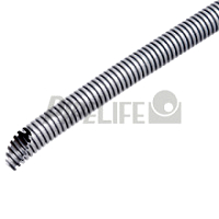 PIPELIFE TXM25 Flex-mittel 25 EN 3341 grau Elektriker Schlauch 50m