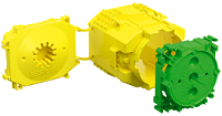 Beton Geräte-Verbindungsdose 3teilig Tiefe=82mm Öffnung=60mm KAISER 1260-40
