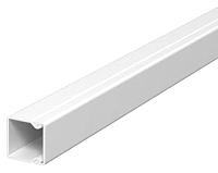 Kabelkanal WDK PVC reinweiß 25x40mm Länge=2m OBO BETTERMANN WDK25040RW