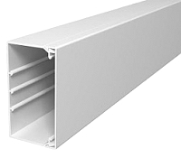 Kabelkanal WDK PVC reinweiß 60x110mm Länge=2mOBO BETTERMANN WDK60110RW