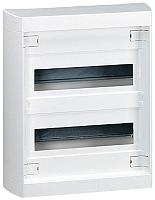 Kleinverteiler Aufputz ohne Tür 2x12+2TE B318xH380xT109mm LEGRAND 601202