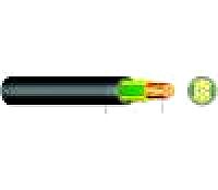 Erdkabel E-YY-J 3X10mm² Schnittlänge 1m