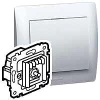 Legrand 775903 Dimmer mit Druck-Wechselschalter 420W