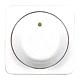 Legrand 776259 Abdeckung für Dreh-Dimmer 1000VA Creo ultraweiß