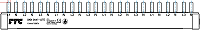 Phasenschiene für Siemens 12x LS-1+N schmalbau FTG SKN0047-12TE