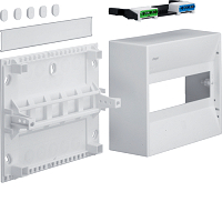 Hager GD110N 1-Reihig Miniverteiler,IP30,10 PLE