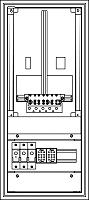 ELSTA ZV-W-1Z-A-1GF UNTEN Unterputz / Aufputz Zählerverteiler Innenraum Wiener Netze