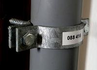 Wiskaschelle Rohr 50 (Nr.2240) PFISTERER WISKASCHELLE