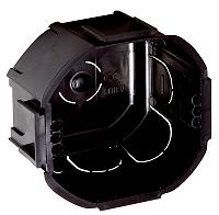 LEGRAND 089207 Kombi- Abzweig- Schalterdose schwarz anreihbar GMD70 T=56mm