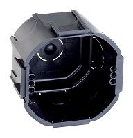 LEGRAND 089215 Kombi- Abzweig- Schalterdose schwarz anreihbar GMD70F T=47mm 200 Stück