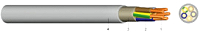 YM-JZ7X1,5 Mantelleitung Grau Eca KABEL-LEITUNGEN YM-JZ 7X1,5 GR 100m
