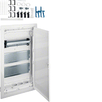 HAGER VH36NW HW Volta 3,MP,Steckdose, PatchPanel