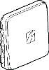 Legrand Kontr.Wippe m. Symbolen 776 011