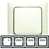 Legrand Rahmen 4-fach Creo mandelwei� 776 004