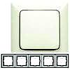 Legrand Rahmen 5-fach Creo mandelweiß 776 005