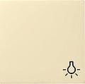 GIRA 028501 Wippe, mit Symbol Licht - cremeweiß glänzend