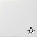 GIRA 028527 Wippe, mit Symbol Licht - reinwei� matt