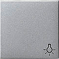 GIRA 028526 Wippe, mit Symbol Licht - alu