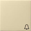 GIRA 028601 Wippe, mit Symbol Klingel - cremeweiß glänzend