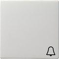 GIRA 028603 Wippe, mit Symbol Klingel - reinweiß glänzend