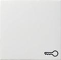 GIRA 028703 Wippe, mit Symbol Tür - reinweiß glänzend